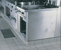 Tiling in Commercial kitchens